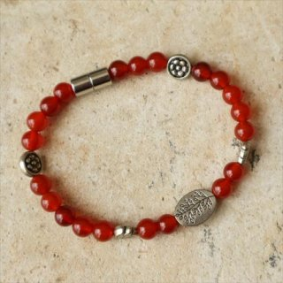 eunnamu/ 赤瑪瑙 ブレス
