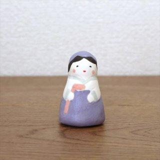 KIMURA & Co. チョゴリの女の子  紫