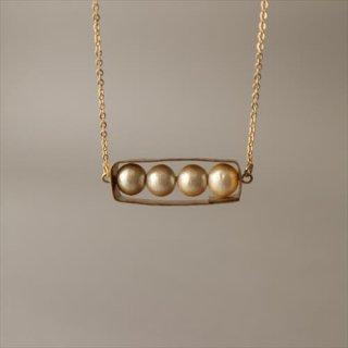 真鍮のネックレス 2