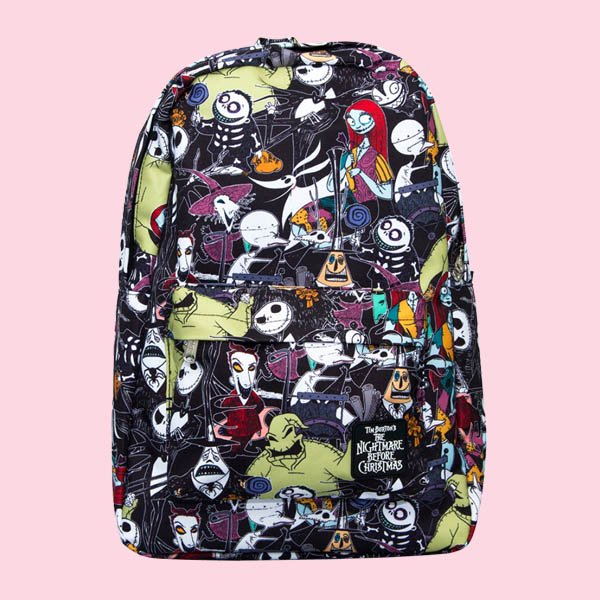 LOUNGEFLY × DISNEY NIGHTMARE BEFORE CHRISTMAS CHARACTER BACKPACK / ラウンジフライ  ディズニー バックパック