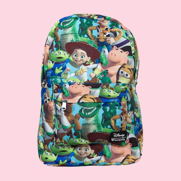 LOUNGEFLY × DISNEY TOY STORY CHARACTER PRINT BACKPACK / ラウンジフライ  ディズニー バックパック