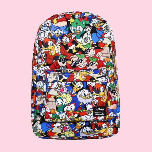 LOUNGEFLY × DISNEY DONALD DUCK FAMILY CHARACTER BACKPACK / ラウンジフライ  ディズニー バックパック