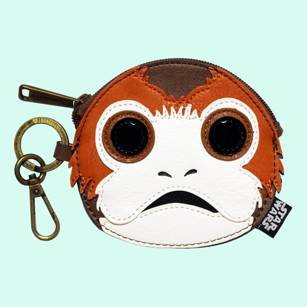 LOUNGEFLY × STAR WARS PORG FACE COIN...