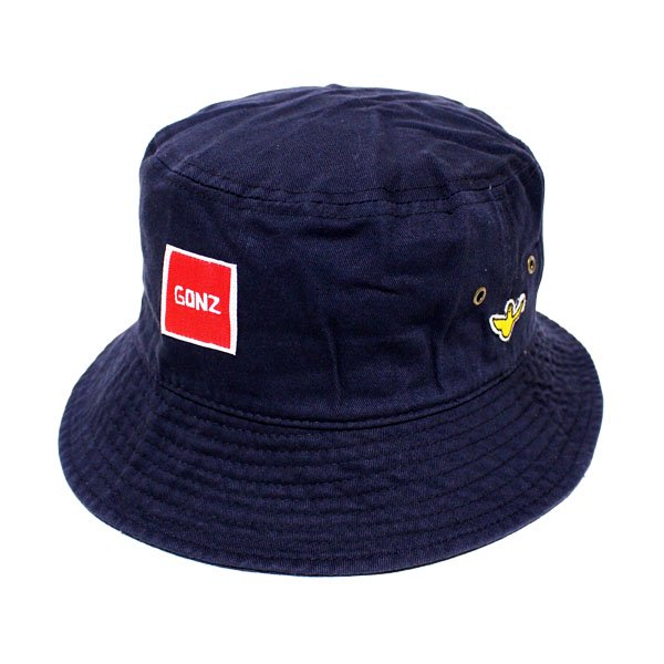 <img class='new_mark_img1' src='https://img.shop-pro.jp/img/new/icons20.gif' style='border:none;display:inline;margin:0px;padding:0px;width:auto;' />MARK GONZALES BUCKET HAT [ NAVY ] / マークゴンザレス バケットハット