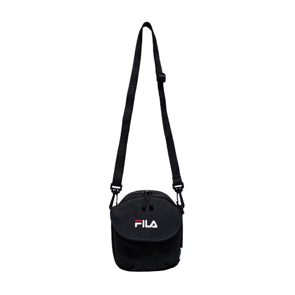 FILA FLAP MINI SHOULDER BAG [ BLACK ] / フィラ  ショルダーバッグ