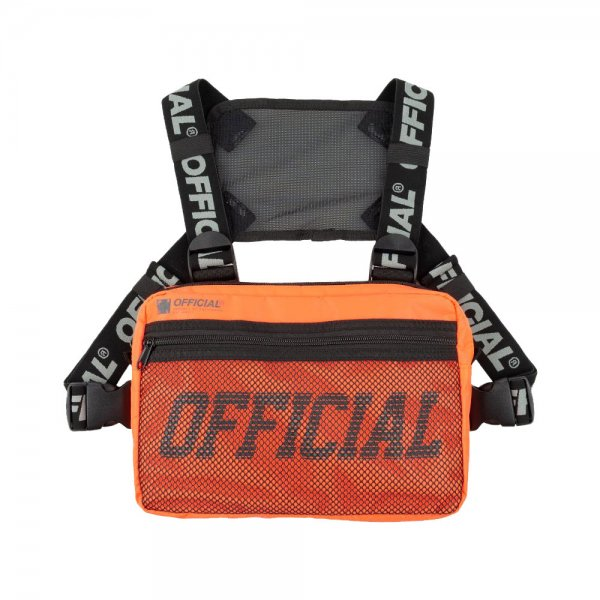 OFFICIAL MELROSE CHEST UTILITY BAG [ ORANGE ] / オフィシャル チェストバッグ