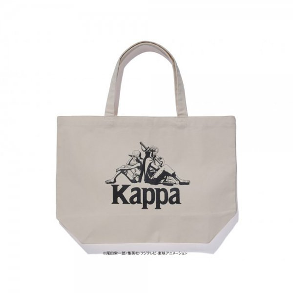 KAPPA × ONE PIECE LUFFY SHANKS OMINI LOGO TOTEBAG / カッパ  ワンピース トートバッグ