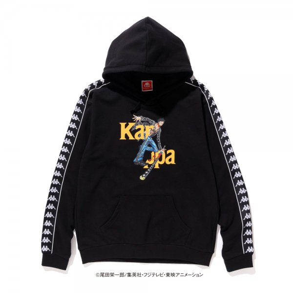 KAPPA × ONE PIECE LAW HOODIE [ BLACK ] / カッパ  ワンピース パーカー