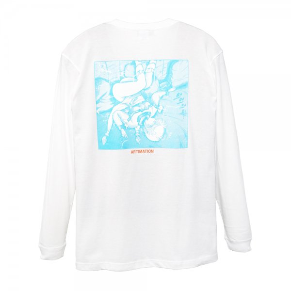 ARTIMATION × 電影少女 FIRST SCENE LONG SLEEVE TEE [ WHITE ] / アーティメーション Tシャツ