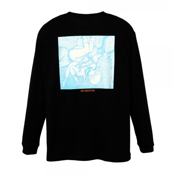 ARTIMATION × 電影少女 FIRST SCENE LONG SLEEVE TEE [ BLACK ] / アーティメーション Tシャツ