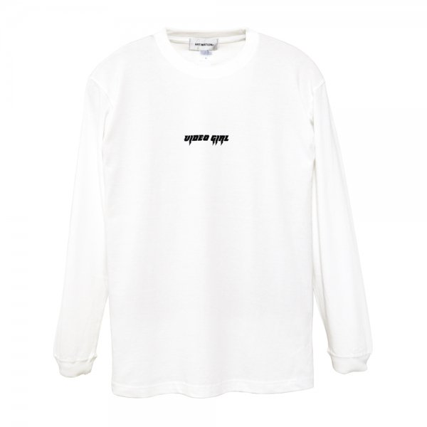 ARTIMATION × 電影少女 THUNDER ACTION LONG SLEEVE TEE [ WHITE ] / アーティメーション Tシャツ