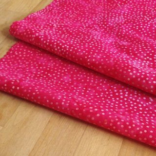 カットクロス DOT BATIKS 【Strawberry Soda】