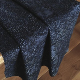 10cm単位 DOT BATIKS 【Midnight Blue 】