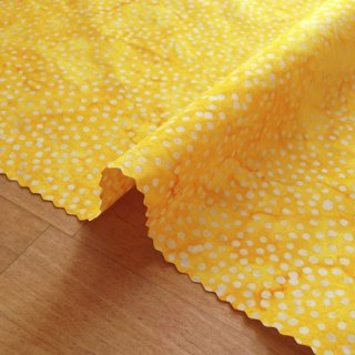 カットクロス DOT BATIKS 【Saffron Yellow 】