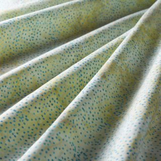 10cm単位 DOT BATIKS 【Antique Mint 】