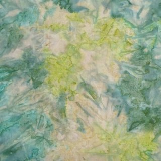 10cm単位 SOLID BATIKS 【Green Lake】