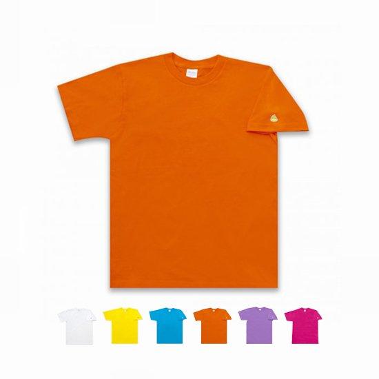 見えにくいのがいいんですね! うんこ 半袖Tシャツ 袖口タイプ ホワイト×シルバー
