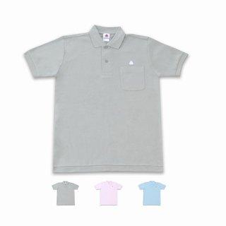 <img class='new_mark_img1' src='https://img.shop-pro.jp/img/new/icons15.gif' style='border:none;display:inline;margin:0px;padding:0px;width:auto;' />うんこ半袖ポロシャツ グレー×ホワイト