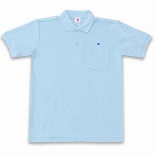 <img class='new_mark_img1' src='https://img.shop-pro.jp/img/new/icons15.gif' style='border:none;display:inline;margin:0px;padding:0px;width:auto;' />うんこ半袖ポロシャツ サックス×ブルー
