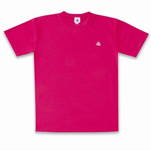うんこドライTシャツ ホットピンクxライトピンク