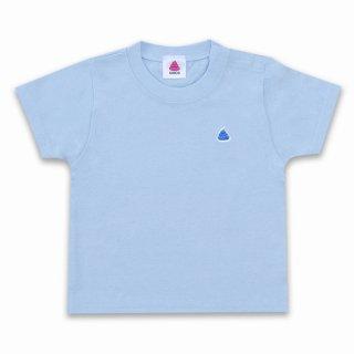 <img class='new_mark_img1' src='https://img.shop-pro.jp/img/new/icons15.gif' style='border:none;display:inline;margin:0px;padding:0px;width:auto;' />うんこベビーTシャツ ライトブルーxブルー