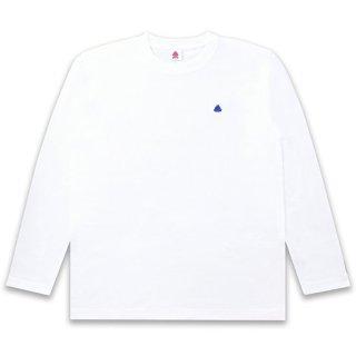 <img class='new_mark_img1' src='https://img.shop-pro.jp/img/new/icons15.gif' style='border:none;display:inline;margin:0px;padding:0px;width:auto;' />うんこ ヘビーウェイト長袖Tシャツ ホワイトxネイビー