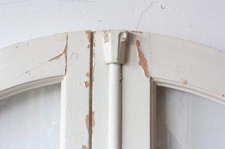 アーチ窓枠 白