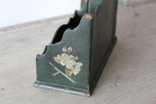 グリーンのレタースタンド