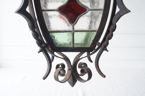 ステンドグラスのランプシェードA
