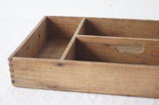 把手付き 木の道具箱