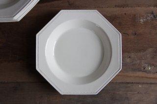 アンティーク オクトゴナルスープ皿 在庫8 [RENTAL]