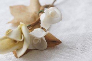 磁器製の造花B