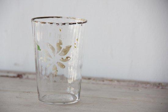ペイントガラスコップ