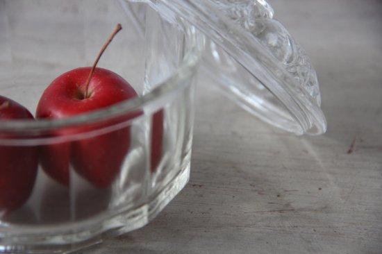 ガラス製ボンボニエール