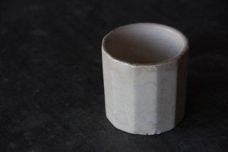 面取陶製カップC