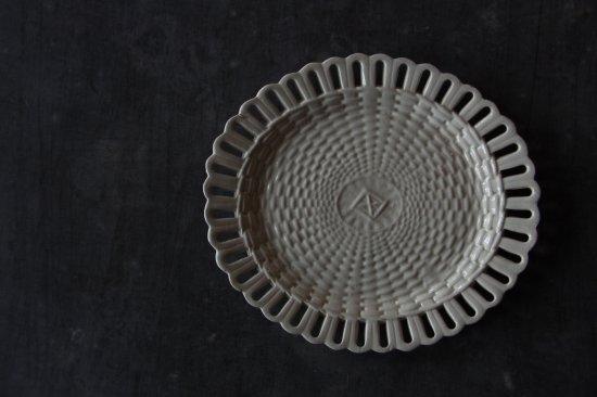 楕円のパニエ皿A