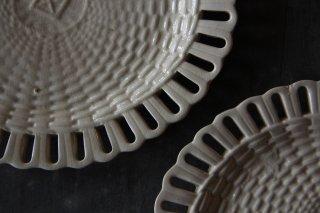 楕円のパニエ皿B