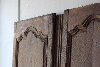 木製ドア2枚セット フランスアンティーク