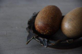 アイビーモチーフの真鍮トレイ