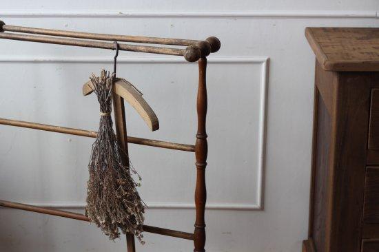 木製タオルハンガーA