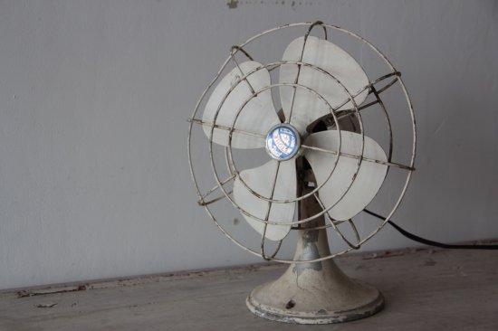 ETOILE アイボリーペイントの扇風機/サーキュレーター