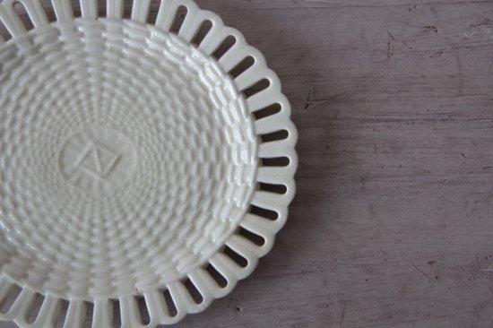 楕円のパニエ皿E
