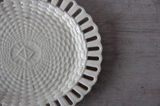 楕円のパニエ皿F
