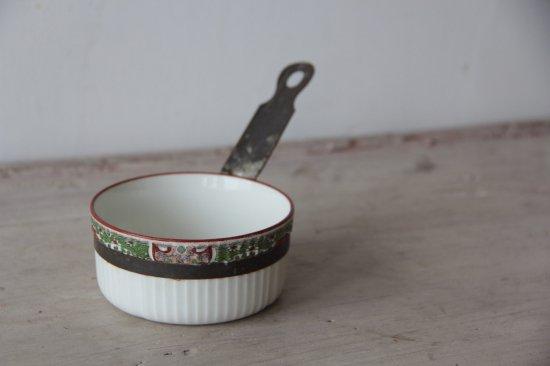 セラミックのミニ片手鍋