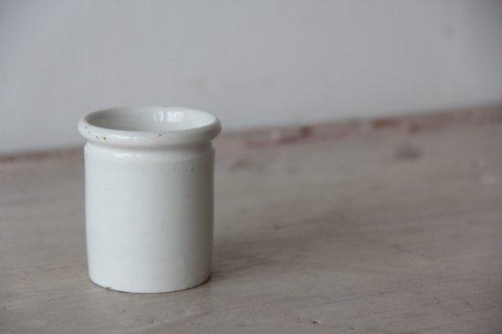 SARREGUEMINES 白いミニポット
