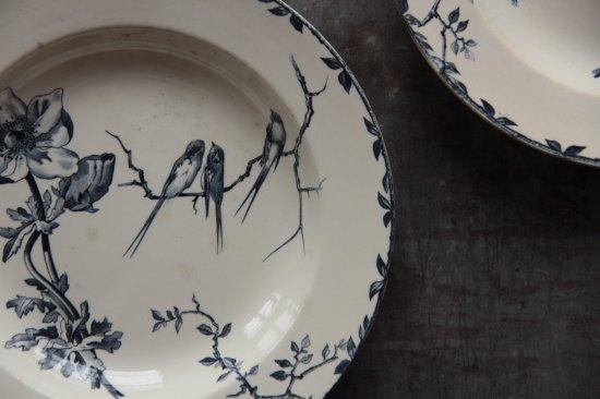 """H.B.&Cie CHOISY """"OXFORD"""" スープ皿A"""