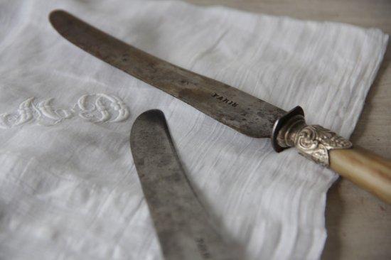 水牛角柄のナイフA