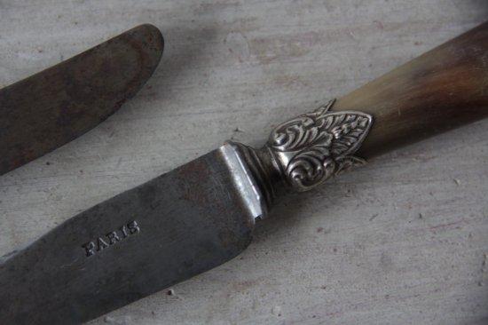 水牛角柄のナイフB
