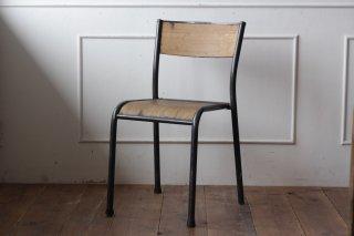 鉄フレームの木椅子 タイプI-B