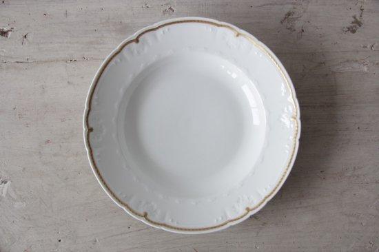 GDA窯 リモージュ金彩スープ皿A